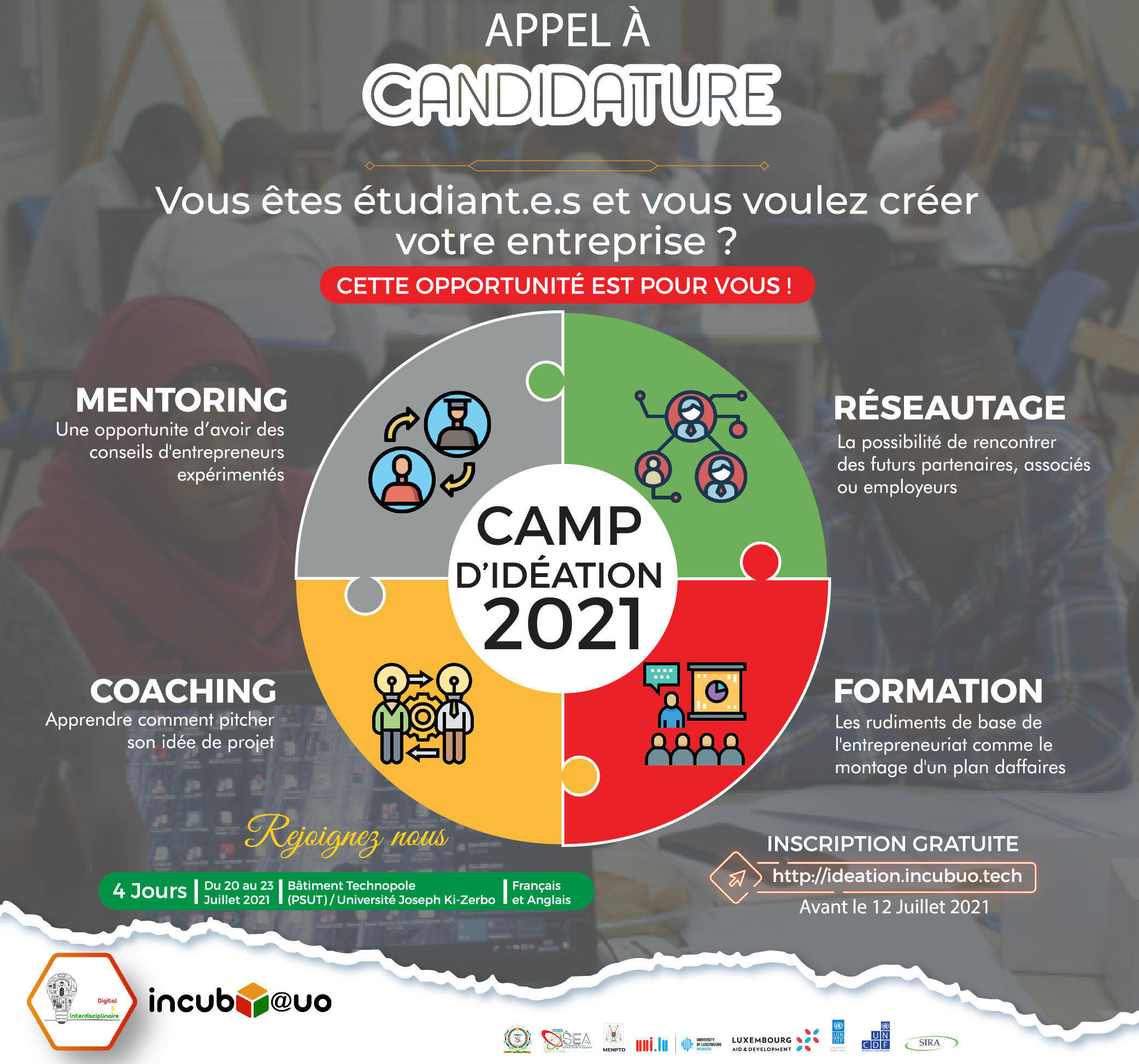 CAMP D'IDEATION 2021
